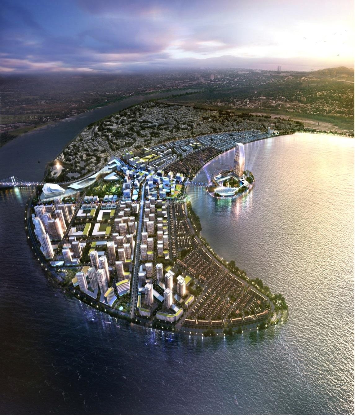 다푹 국제신도시, 다낭 (Daphuoc International New Town, Danang)